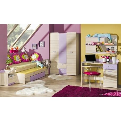 Vaikų kambario komplektas Lorento IV