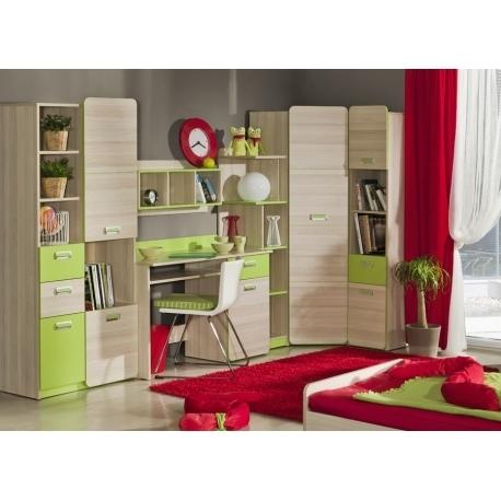 Vaikų kambario komplektas Lorento VII