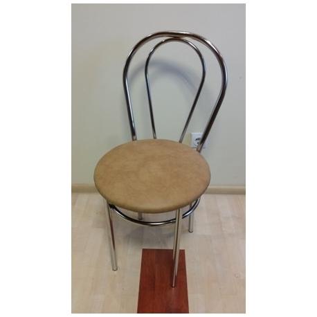 Kėdė metalinis atlašas be paminkštinimo