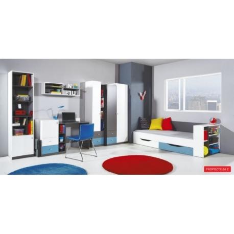 Vaiko kambario baldų komplektas TABLO E
