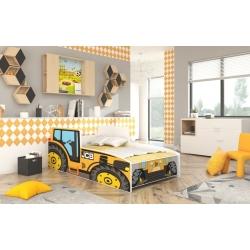Lova Tractor Yellow