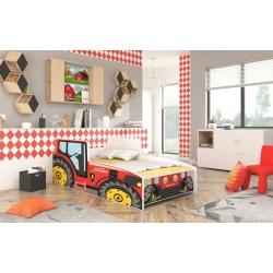 Vaikiška Lova Traktorius/Tractor Red
