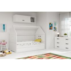 Vaikiška lova Domi 1 Balta