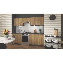 Virtuvės komplektas DARIA 240 ąžuolas wotan