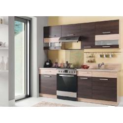 Virtuvės komplektas Modena 220 Šviesi rijeka
