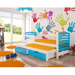 Vaikiška lova Avila - Balta