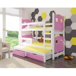 Vaikiška lova Leticia - Balta
