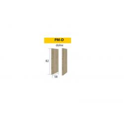 Šoninė plokštė pastatomoms spintelėms Premio PM-D