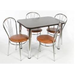 Virtuvinis stalas 100x65 plus 4 kėdės Wenus