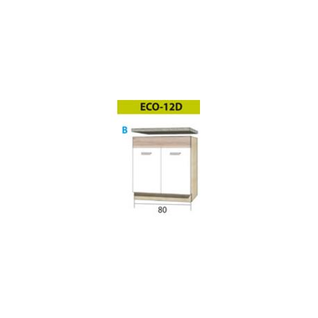 ECONO pastatoma spintelė kriauklei ECO-11D