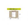 ECONO pastatoma spintelė kriauklei ECO-13D