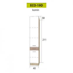 ECONO pastatoma spintelė ECO-19D