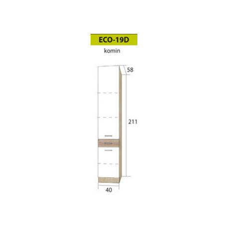 ECONO pastatoma spintelė ECO-18D