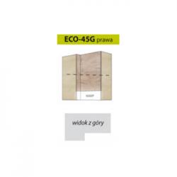 ECONO pakabinama kampinė spintelė ECO-45G (dešininė)