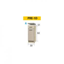 PREMIO pastatoma spintelė PRE-1D