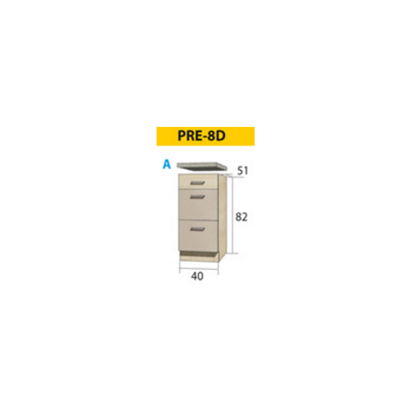PREMIO pastatoma spintelė PRE-7D
