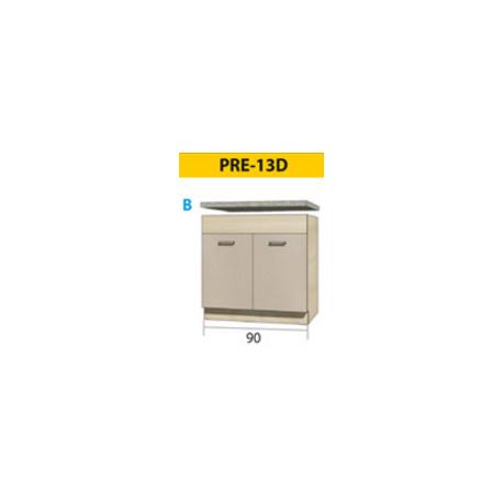 PREMIO pastatoma spintelė kriauklei PRE-12D