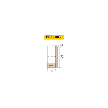 PREMIO pastatoma spintelė šaldytuvui PRE-21D