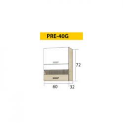 PREMIO pakabinama spintelė PRE-40G