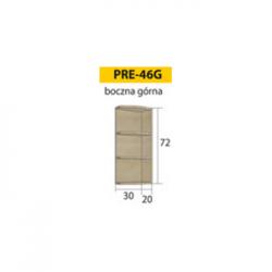 PREMIO pakabinama spintelė PRE-46G