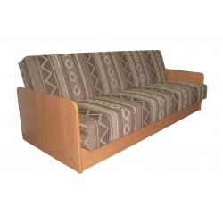 Sofa - lova Ola su mediniais šonais