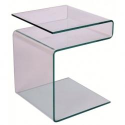 Žurnalinis staliukas su stiklu Epi