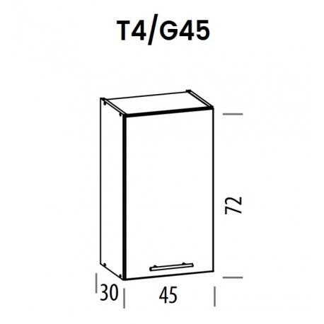 Pakabinama spintelė Tiffany T4/G45