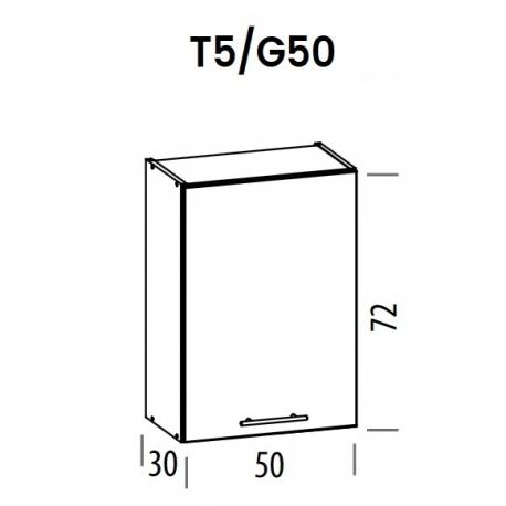 Pakabinama spintelė Tiffany T5/G50