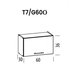 Pakabinama spintelė Tiffany T7/G60o