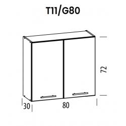 Pakabinama spintelė Tiffany T11/G80
