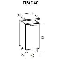 Pastatoma spintelė Tiffany T15/D40