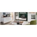 Korpusiniai svetainės baldai Heda