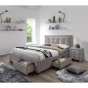 Miegamojo lovos su stalčiais